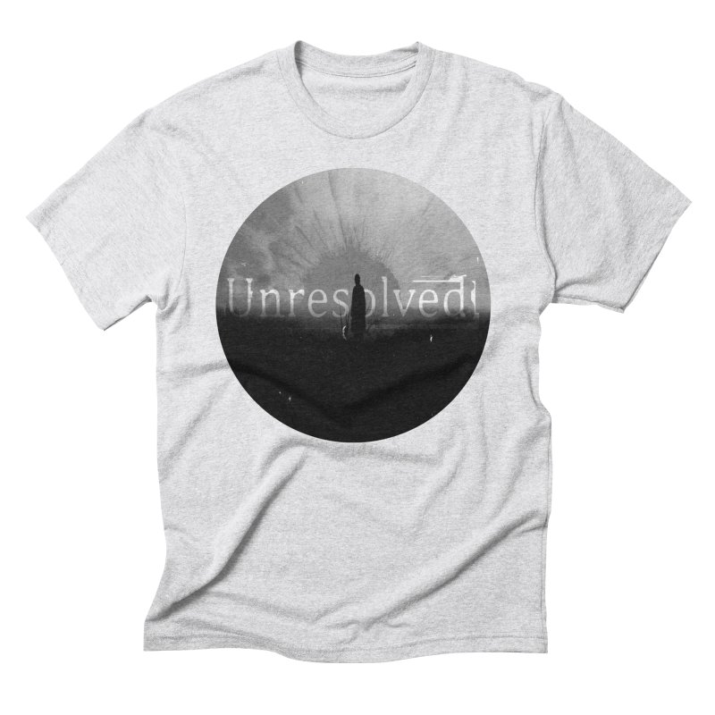Logo (Rounded) Men's Triblend T-Shirt by Unresolved Shop