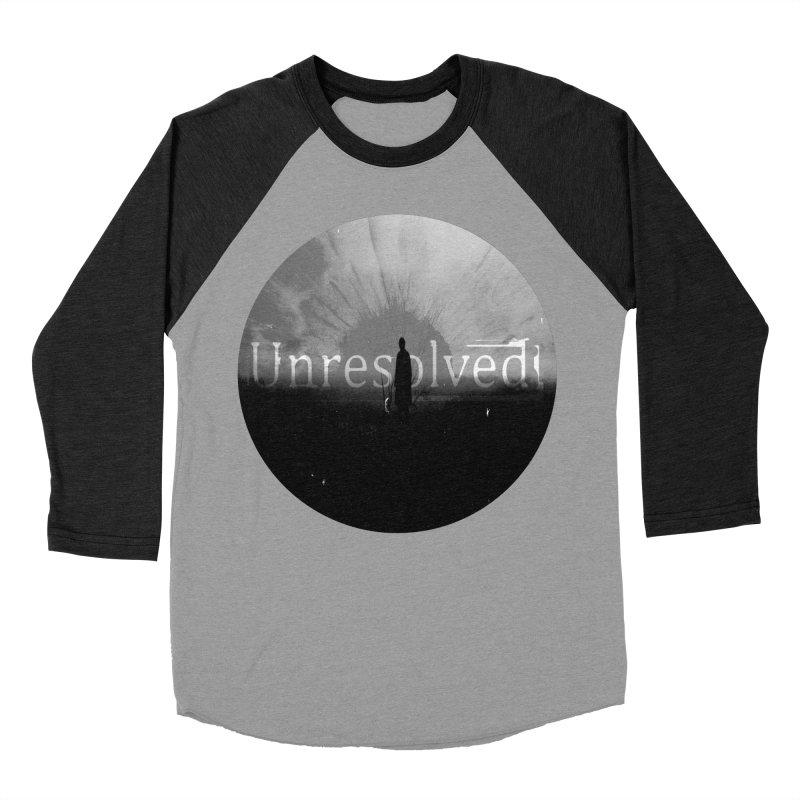 Logo (Rounded) Men's Baseball Triblend Longsleeve T-Shirt by Unresolved Shop