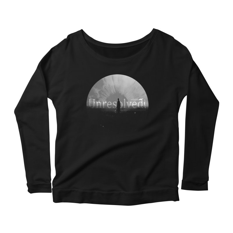 Logo (Rounded) Women's Scoop Neck Longsleeve T-Shirt by Unresolved Shop