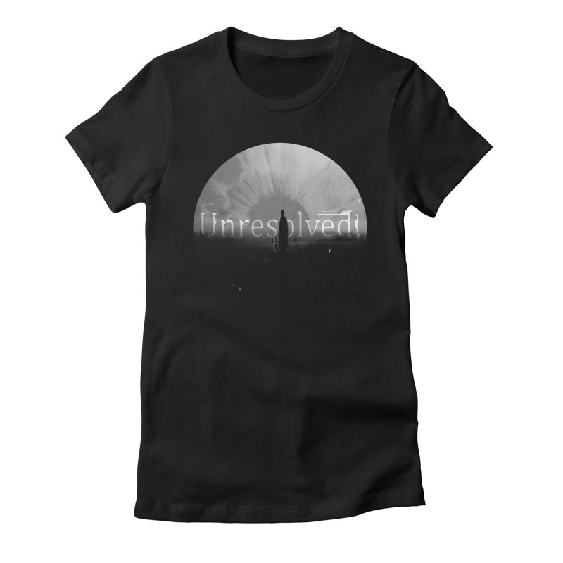 Logo (Rounded) Women's Fitted T-Shirt by Unresolved Shop