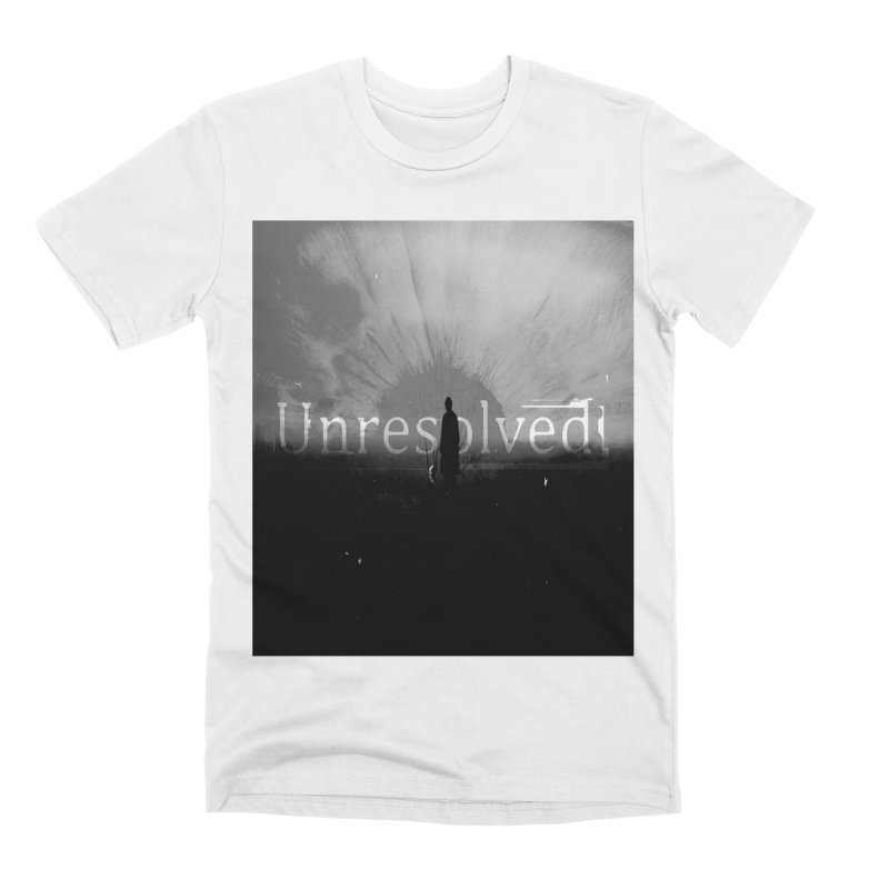 Logo (Squared) Men's Premium T-Shirt by Unresolved Shop