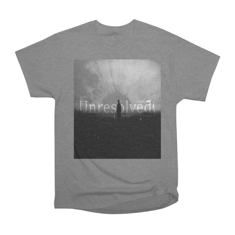 Logo (Squared) Men's Heavyweight T-Shirt by Unresolved Shop