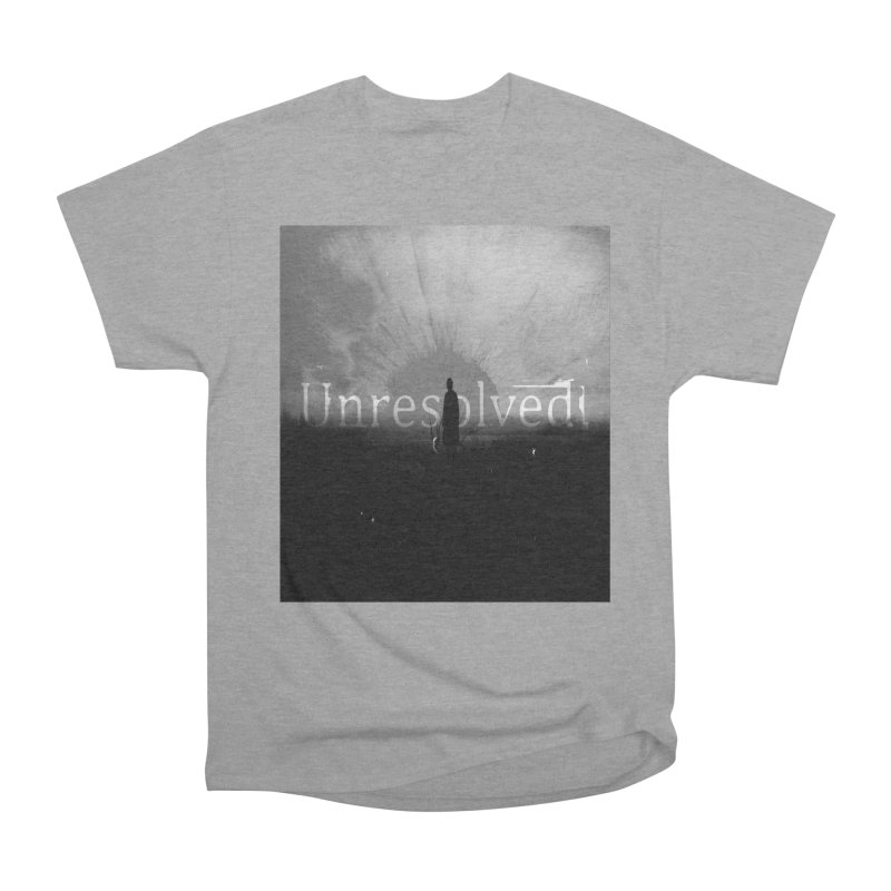 Logo (Squared) Women's Heavyweight Unisex T-Shirt by Unresolved Shop