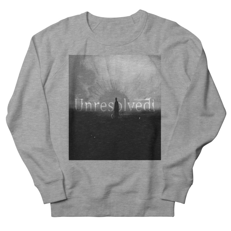 Logo (Squared) Women's French Terry Sweatshirt by Unresolved Shop