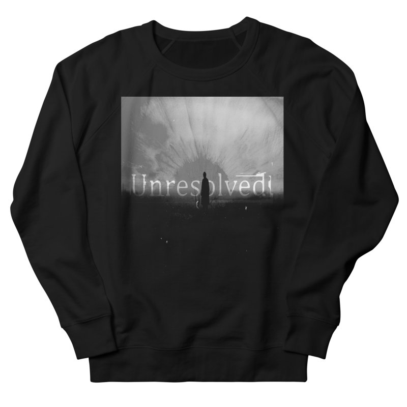 Logo (Squared) Men's French Terry Sweatshirt by Unresolved Shop