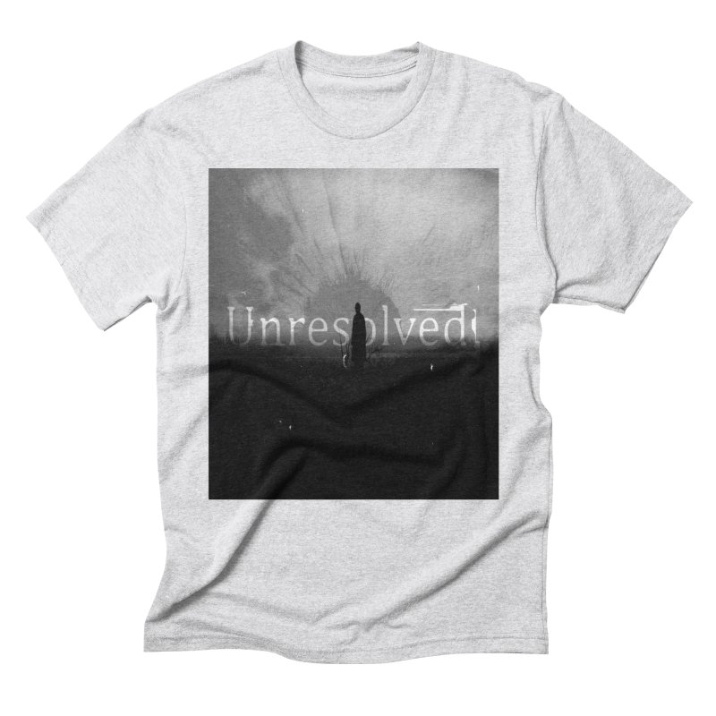 Logo (Squared) Men's Triblend T-Shirt by Unresolved Shop