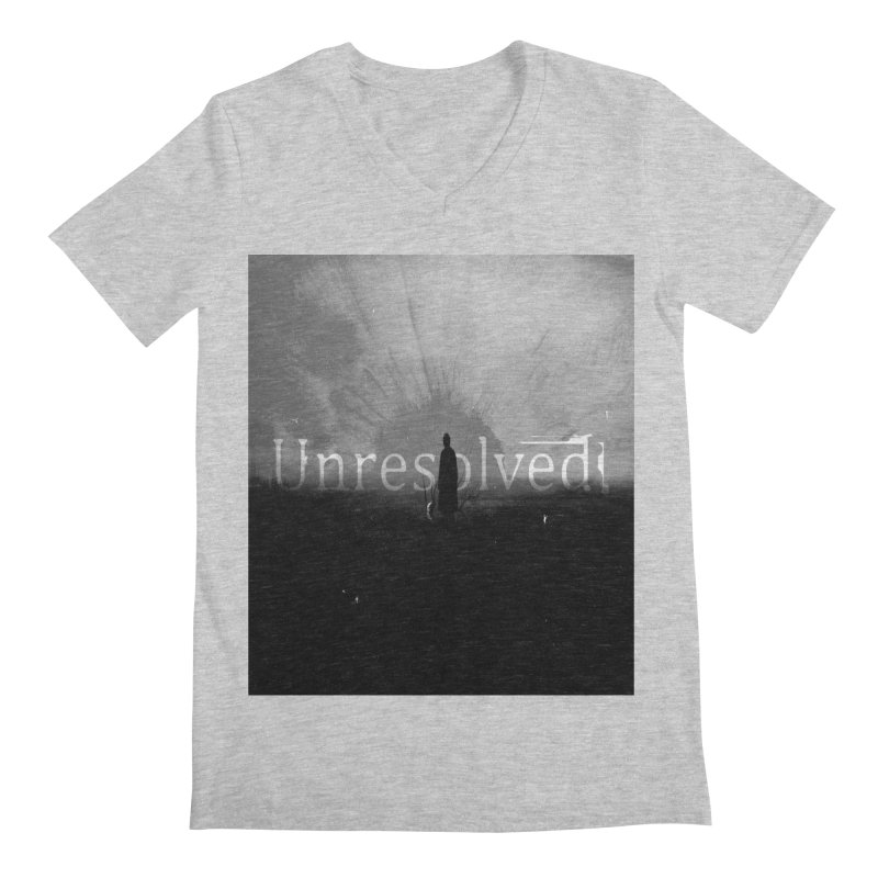 Logo (Squared) Men's Regular V-Neck by Unresolved Shop