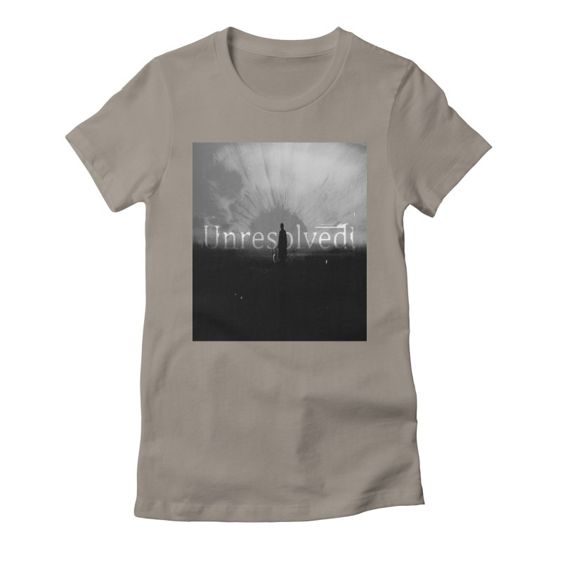 Logo (Squared) Women's Fitted T-Shirt by Unresolved Shop