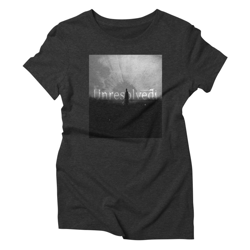 Logo (Squared) Women's Triblend T-Shirt by Unresolved Shop