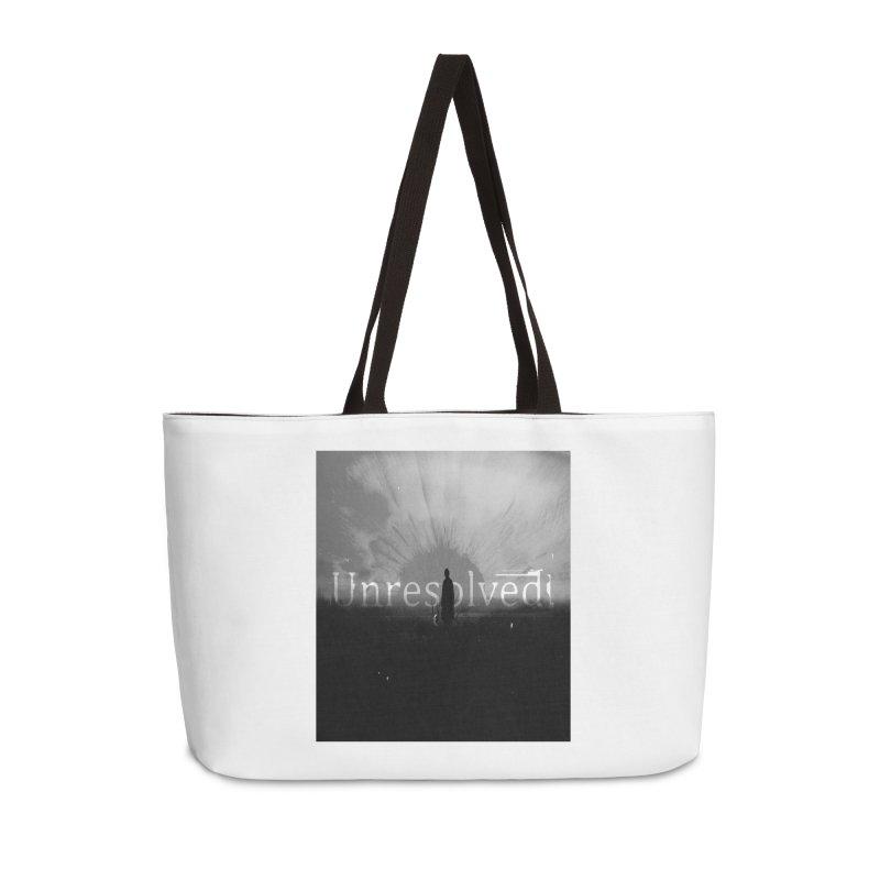 Logo (Squared) Accessories Weekender Bag Bag by Unresolved Shop