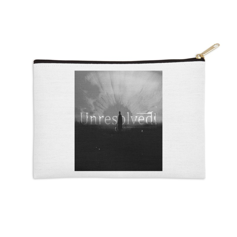 Logo (Squared) Accessories Zip Pouch by Unresolved Shop