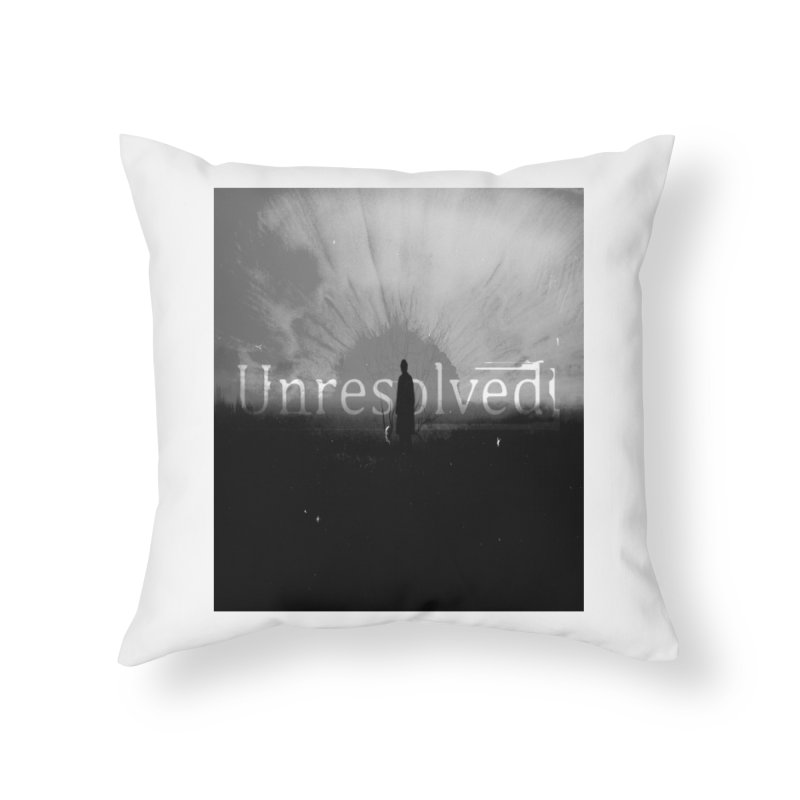 Logo (Squared) Home Throw Pillow by Unresolved Shop