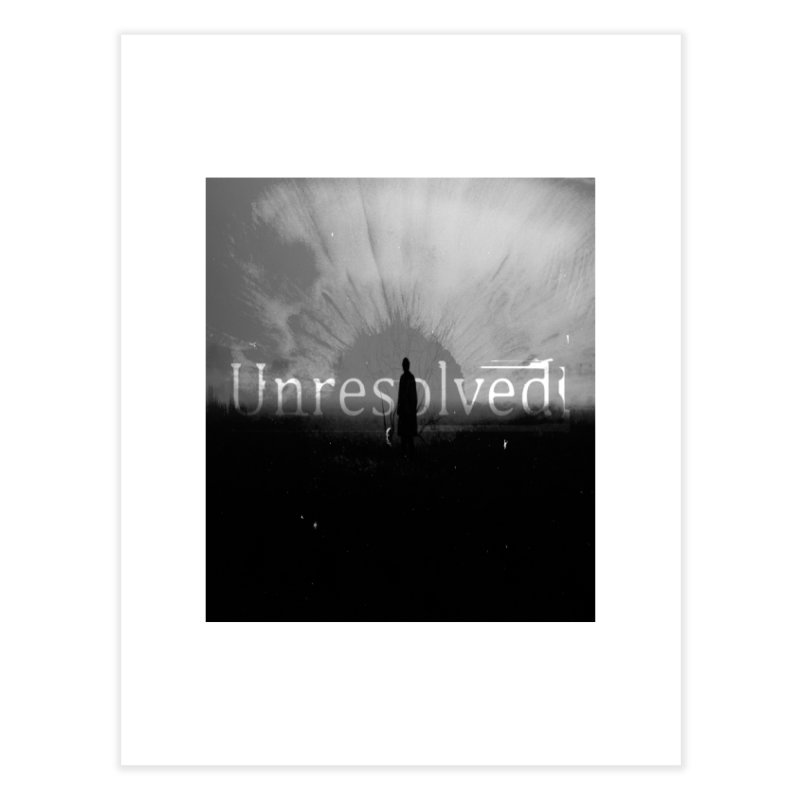 Logo (Squared) Home Fine Art Print by Unresolved Shop