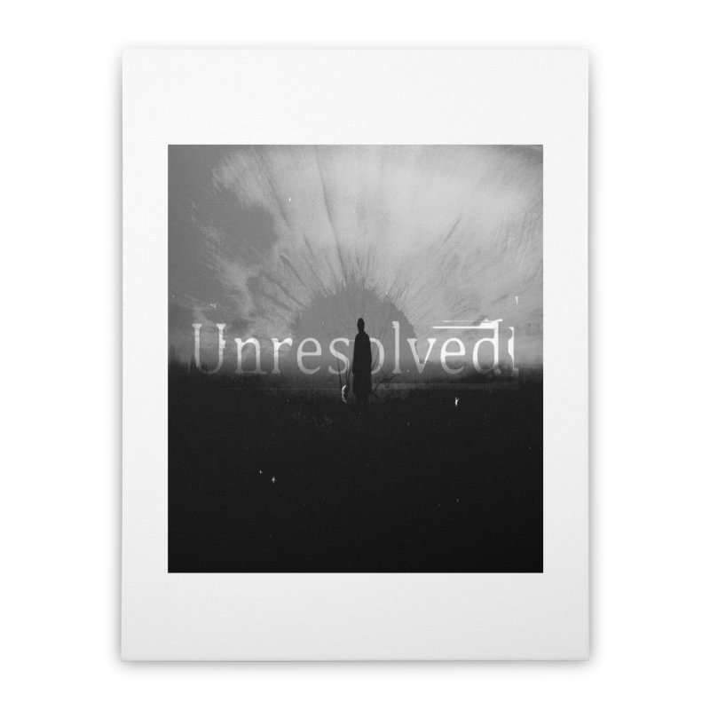 Logo (Squared) Home Stretched Canvas by Unresolved Shop