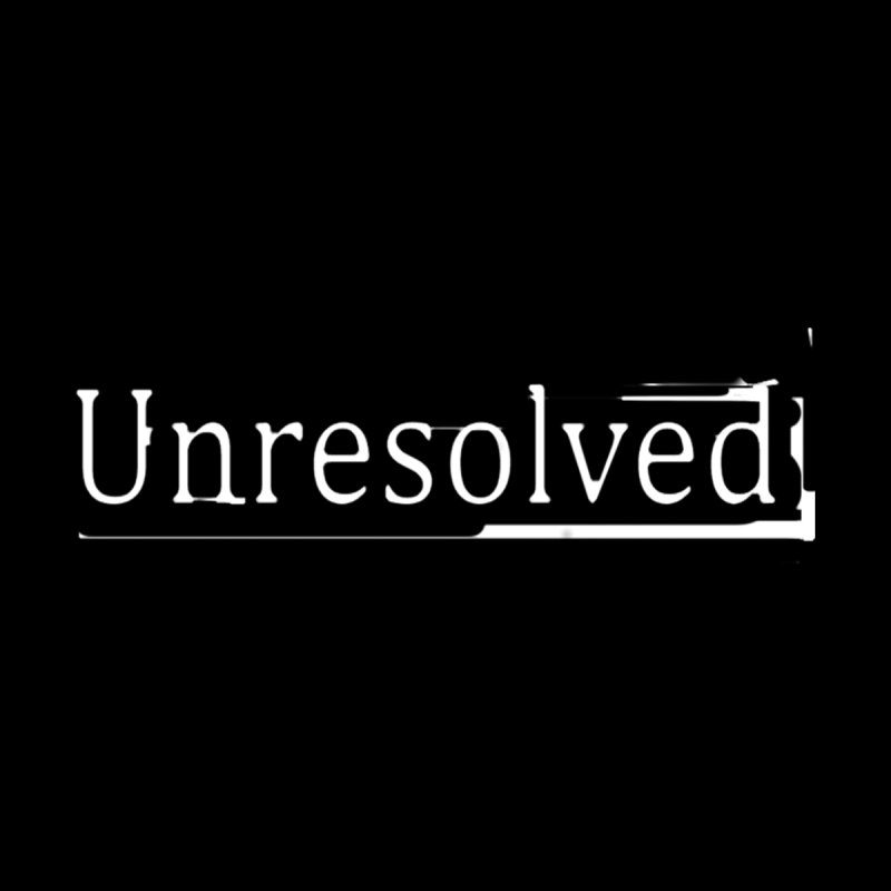 Unresolved (White Alternate) Men's T-Shirt by Unresolved Shop
