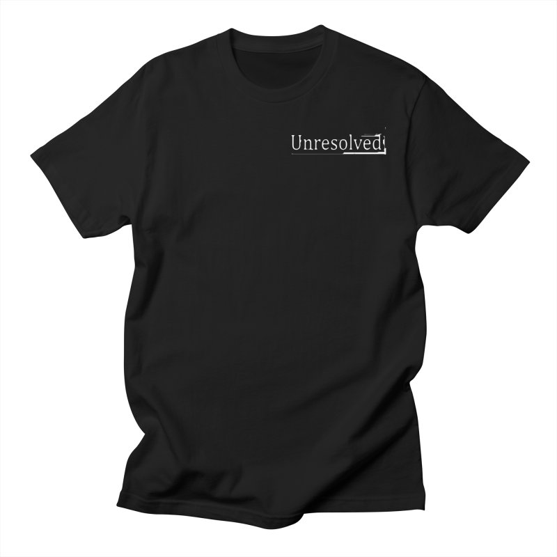 Unresolved (White Alternate) Men's Regular T-Shirt by Unresolved Shop