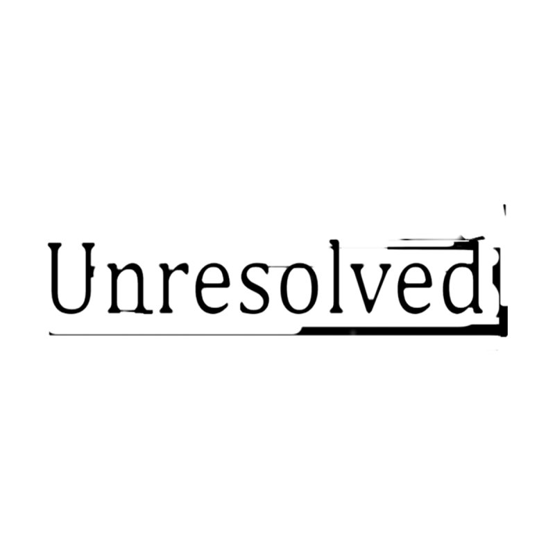 Unresolved (Black Alternate) by Unresolved Shop