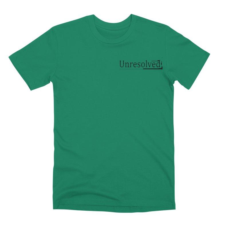 Unresolved (Black Alternate) Men's Premium T-Shirt by Unresolved Shop