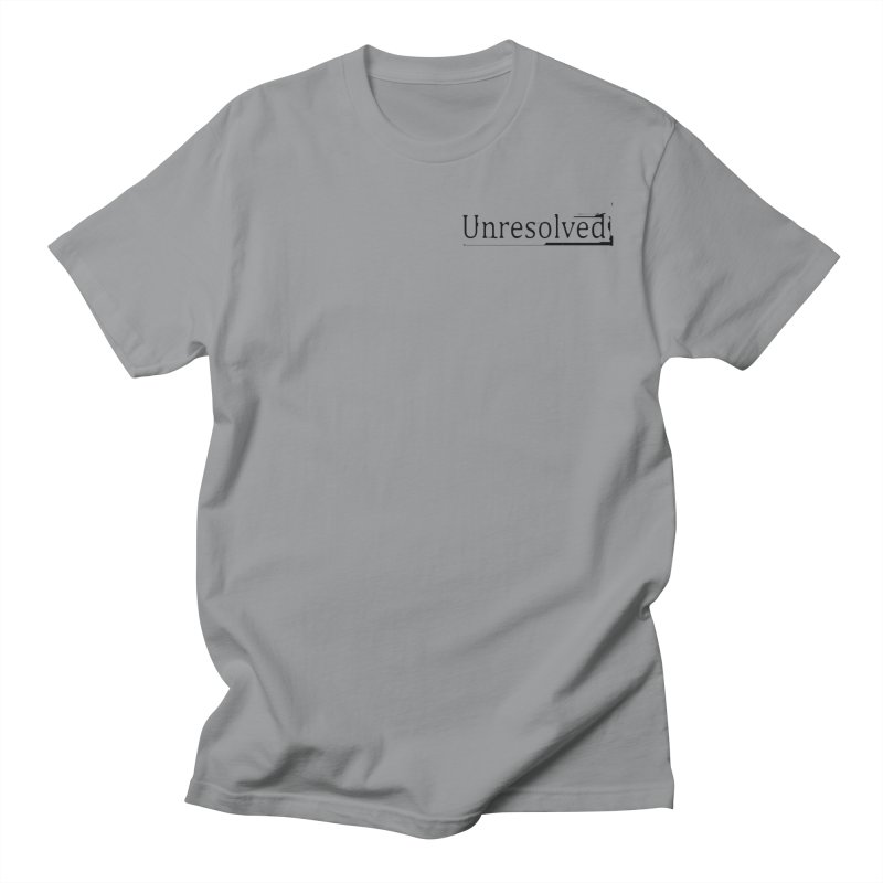 Unresolved (Black Alternate) Men's Regular T-Shirt by Unresolved Shop