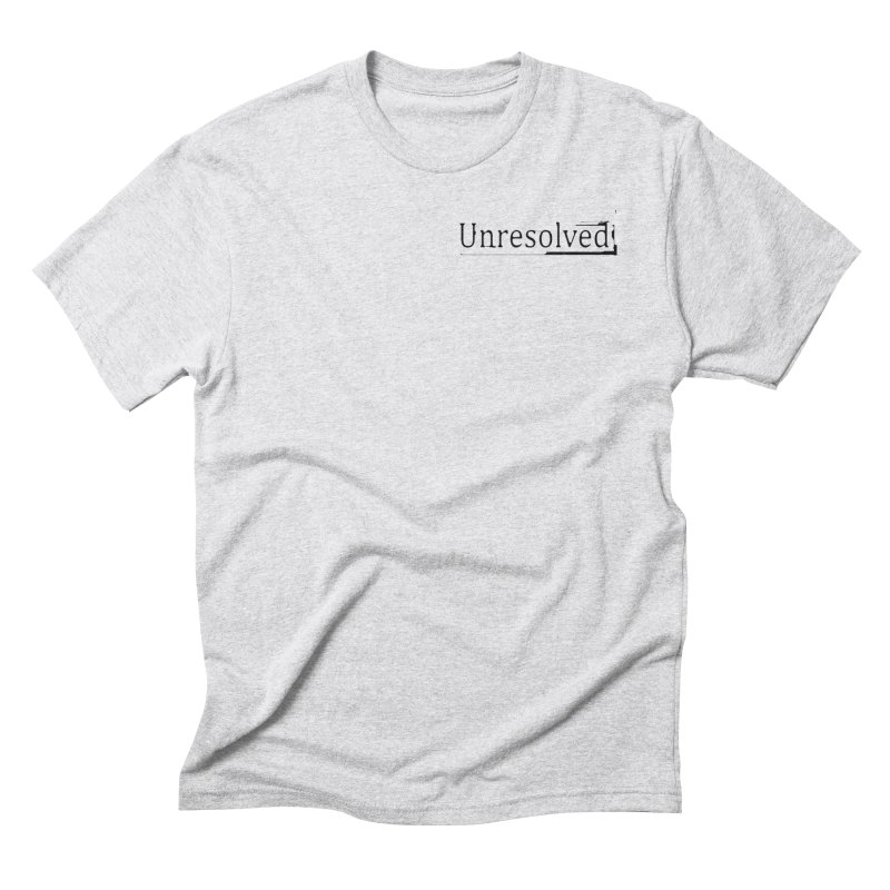 Unresolved (Black Alternate) Men's Triblend T-Shirt by Unresolved Shop