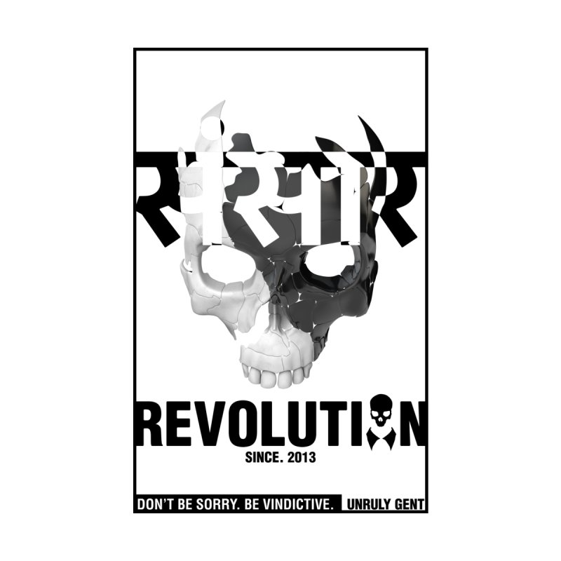 WORLD REVOLUTION (onWHITE) Men's T-Shirt by unrulygent's Artist Shop