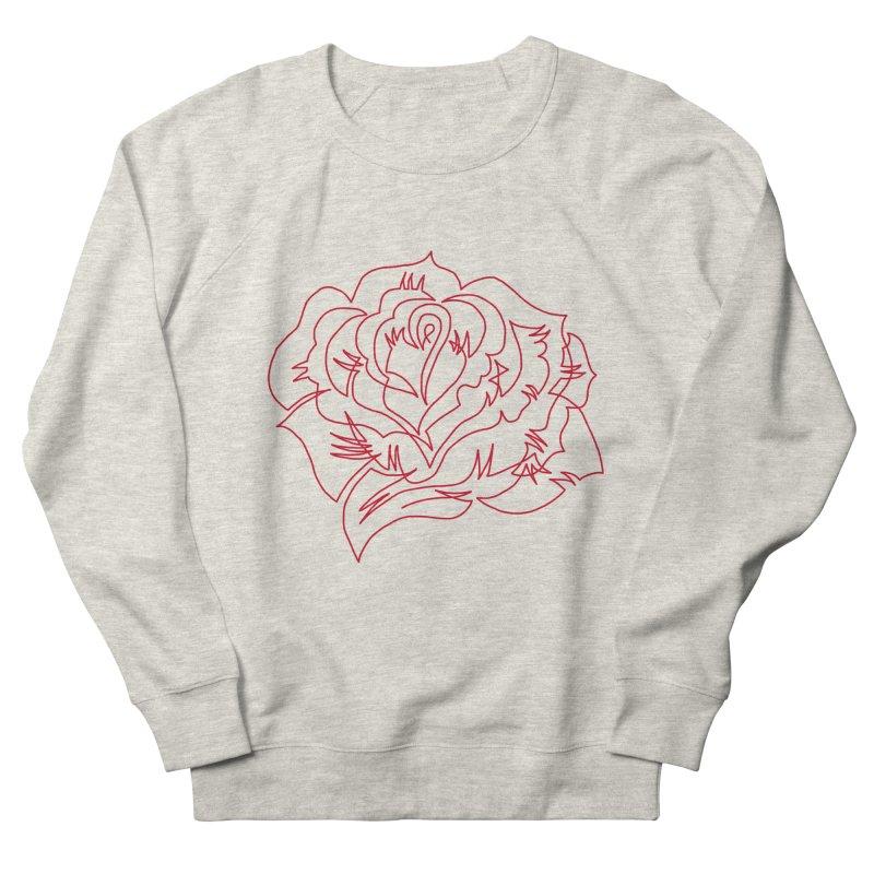 Rose Women's French Terry Sweatshirt by asingleline