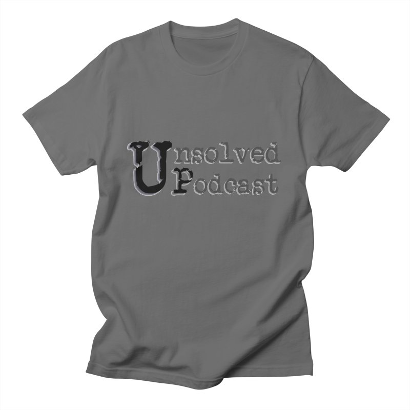 Logo Shirts - All Other Colors Men's T-Shirt by Unsolved Podcast Gear Shop