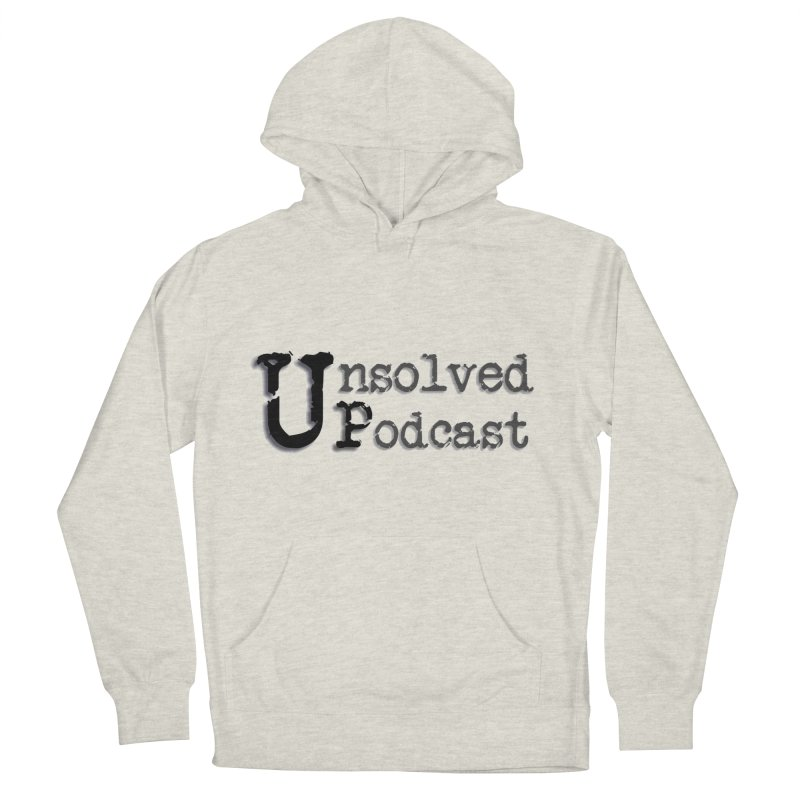 Logo Shirts - All Other Colors Women's French Terry Pullover Hoody by Unsolved Podcast Gear Shop