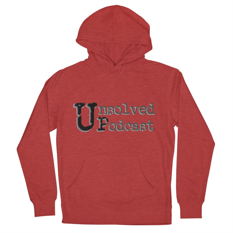 Logo Shirts - All Other Colors Men's French Terry Pullover Hoody by Unsolved Podcast Gear Shop