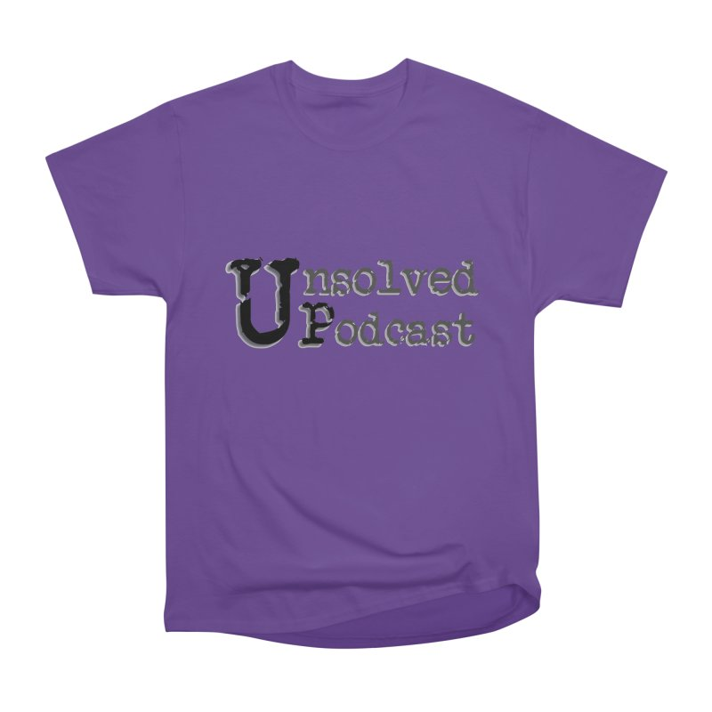 Logo Shirts - All Other Colors Women's Classic Unisex T-Shirt by Unsolved Podcast Gear Shop