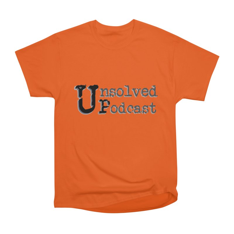 Logo Shirts - All Other Colors Men's Classic T-Shirt by Unsolved Podcast Gear Shop
