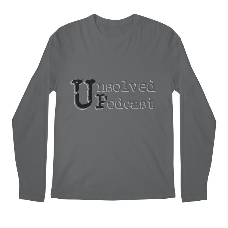 Logo Shirts - All Other Colors Men's Longsleeve T-Shirt by Unsolved Podcast Gear Shop
