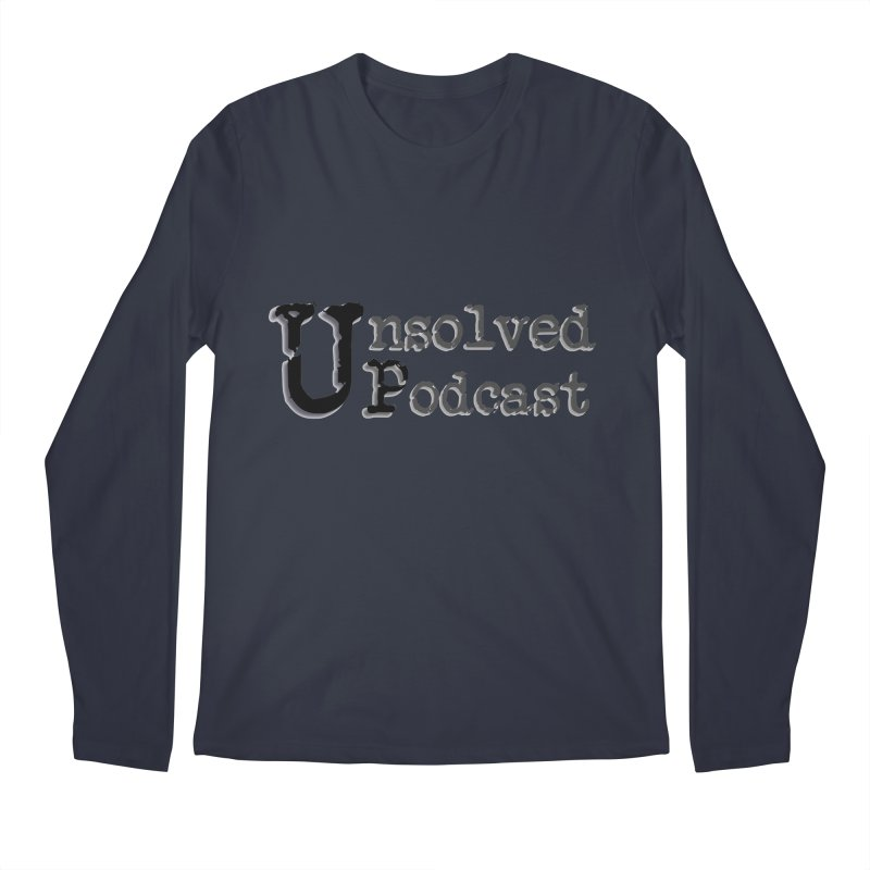 Logo Shirts - All Other Colors Men's Regular Longsleeve T-Shirt by Unsolved Podcast Gear Shop