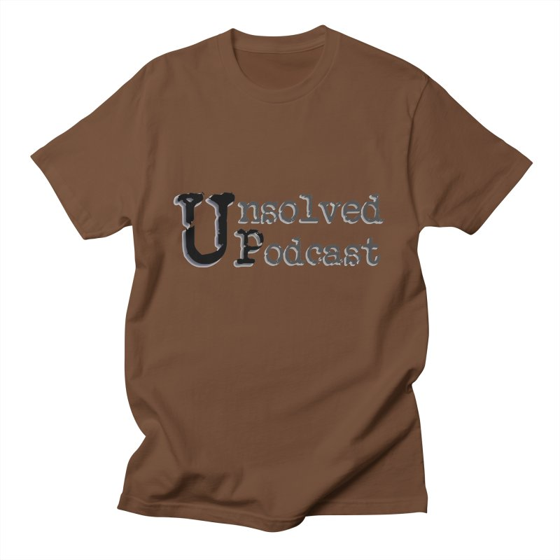 Logo Shirts - All Other Colors Men's Regular T-Shirt by Unsolved Podcast Gear Shop