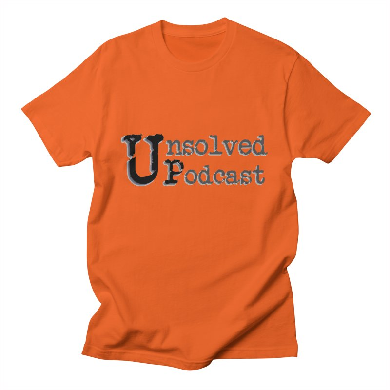 Logo Shirts - All Other Colors Women's Regular Unisex T-Shirt by Unsolved Podcast Gear Shop