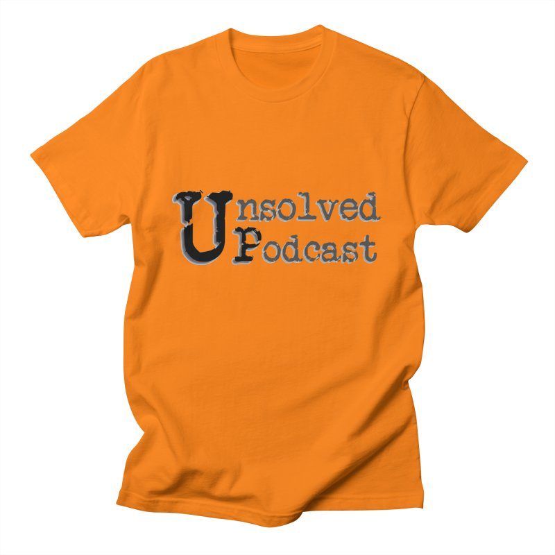 Logo Shirts - All Other Colors Women's Unisex T-Shirt by Unsolved Podcast Gear Shop