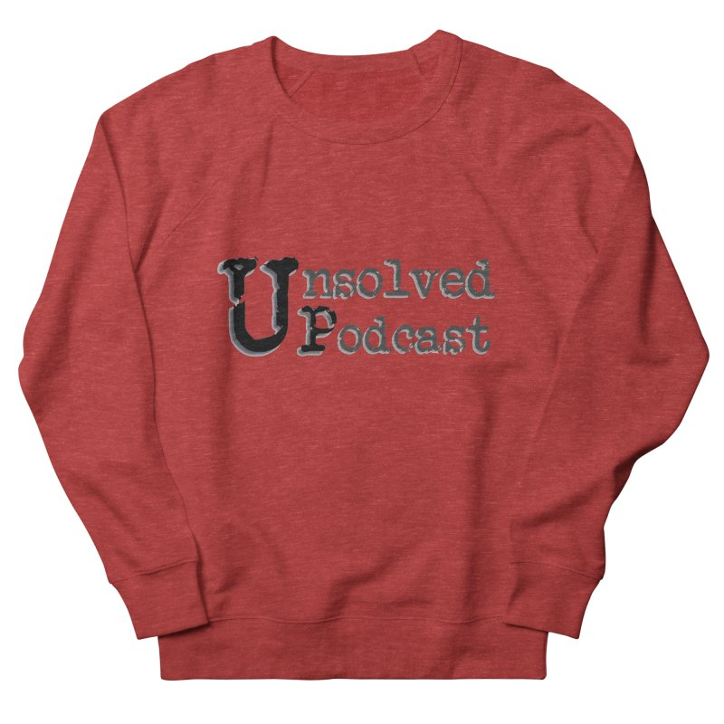Logo Shirts - All Other Colors Women's Sweatshirt by Unsolved Podcast Gear Shop
