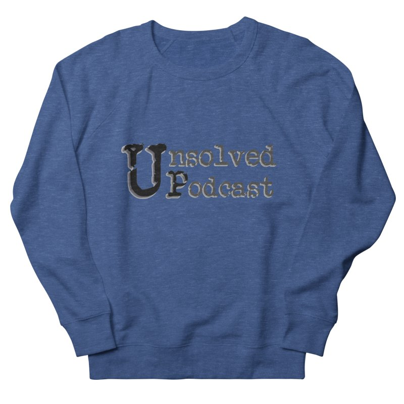 Logo Shirts - All Other Colors Men's Sweatshirt by Unsolved Podcast Gear Shop
