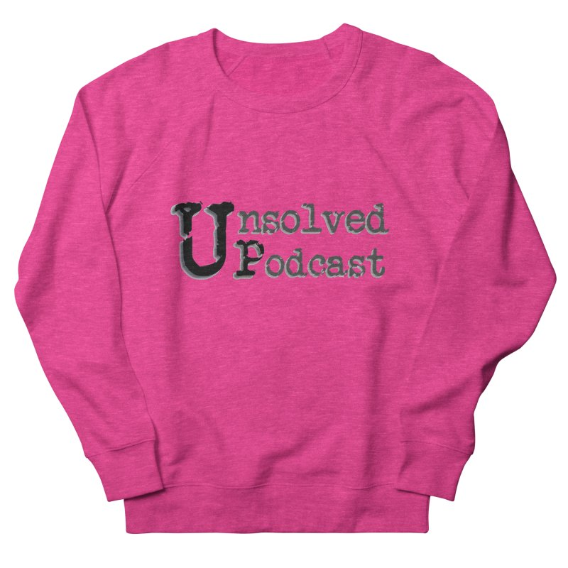 Logo Shirts - All Other Colors Men's  by Unsolved Podcast Gear Shop