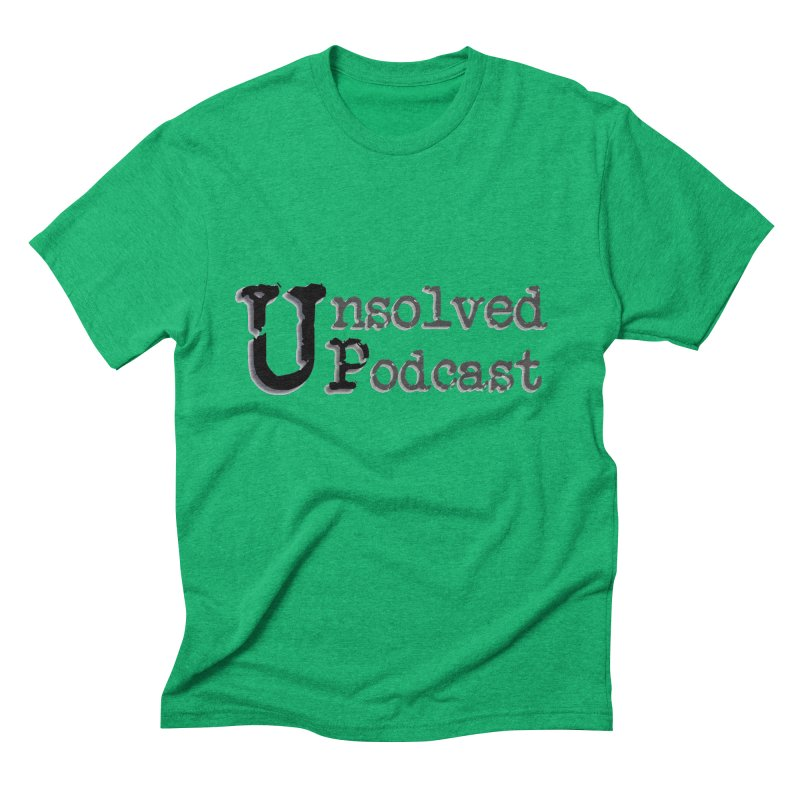 Logo Shirts - All Other Colors Men's Triblend T-Shirt by Unsolved Podcast Gear Shop