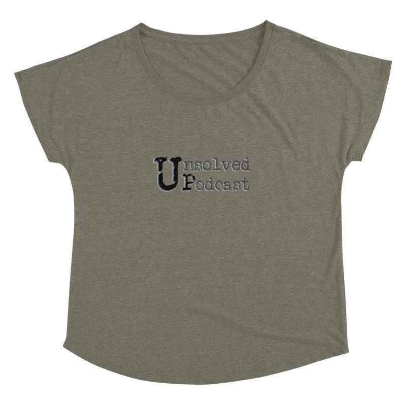 Logo Shirts - All Other Colors Women's Dolman by Unsolved Podcast Gear Shop