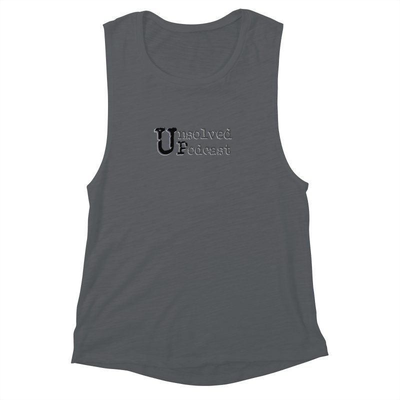 Logo Shirts - All Other Colors Women's Muscle Tank by Unsolved Podcast Gear Shop