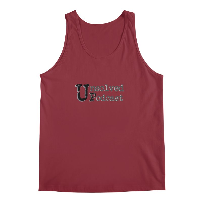 Logo Shirts - All Other Colors Men's Regular Tank by Unsolved Podcast Gear Shop