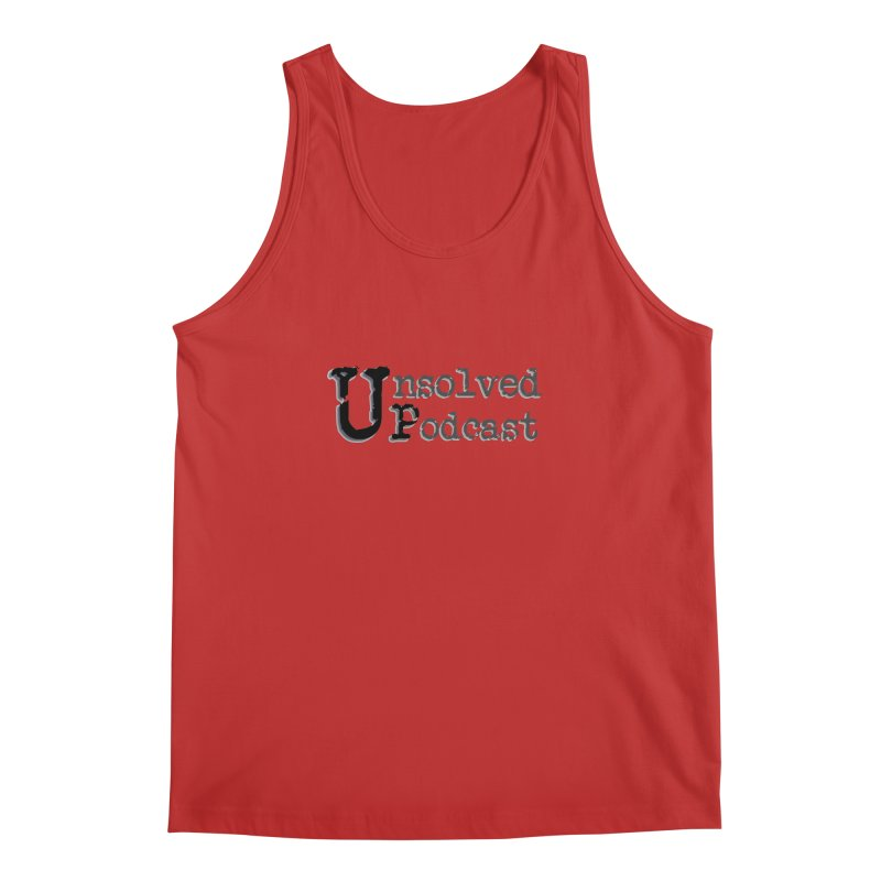 Logo Shirts - All Other Colors Men's Tank by Unsolved Podcast Gear Shop