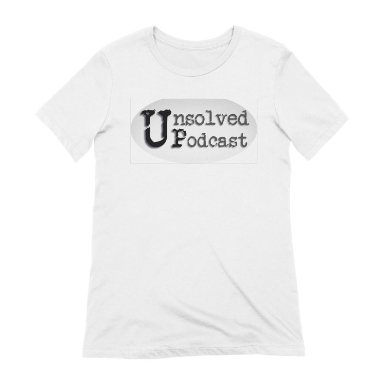 Extra Soft Tee Women's Extra Soft T-Shirt by Unsolved Podcast Gear Shop