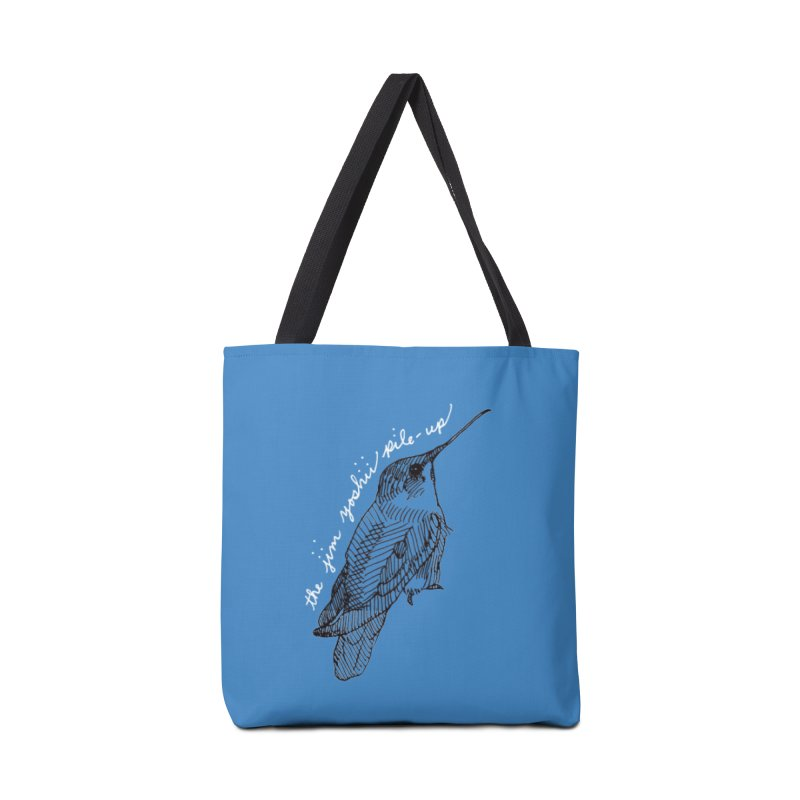 JYPU Hummingbird Accessories Tote Bag Bag by Unspeakable Records' Artist Shop