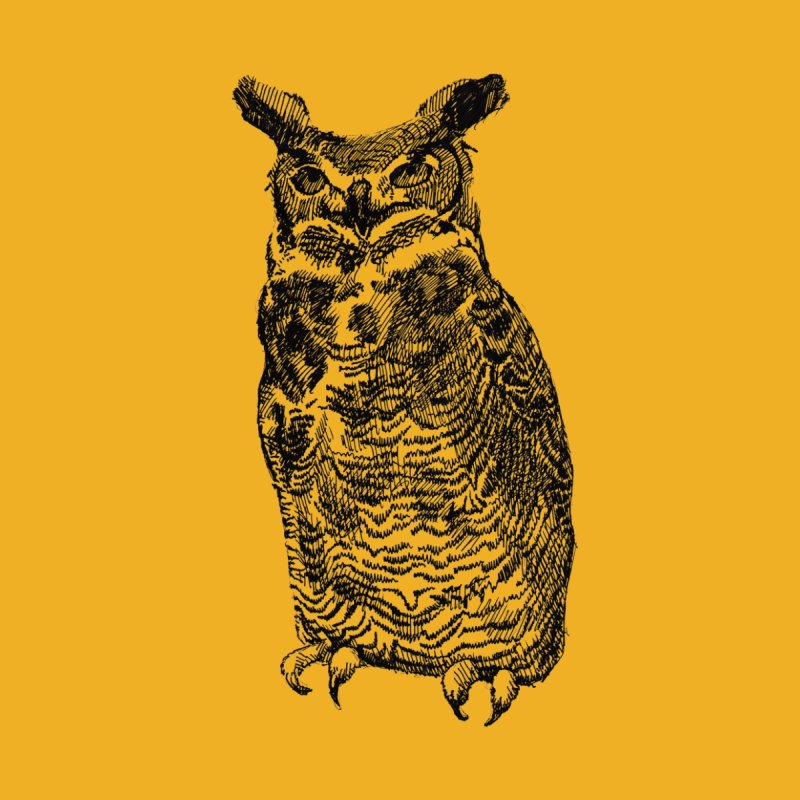 Enforcer Owl by Unspeakable Records' Artist Shop