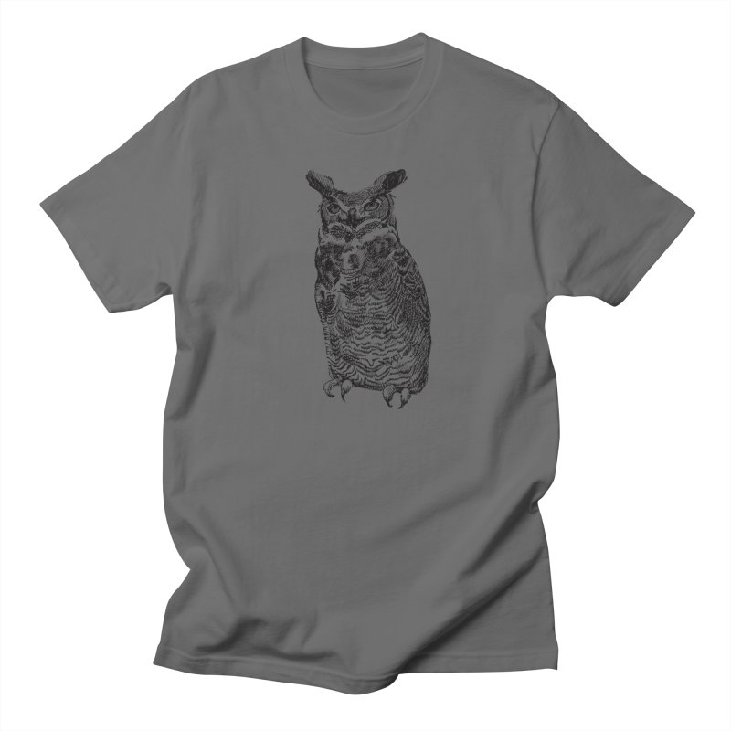 Enforcer Owl Men's T-Shirt by Unspeakable Records' Artist Shop