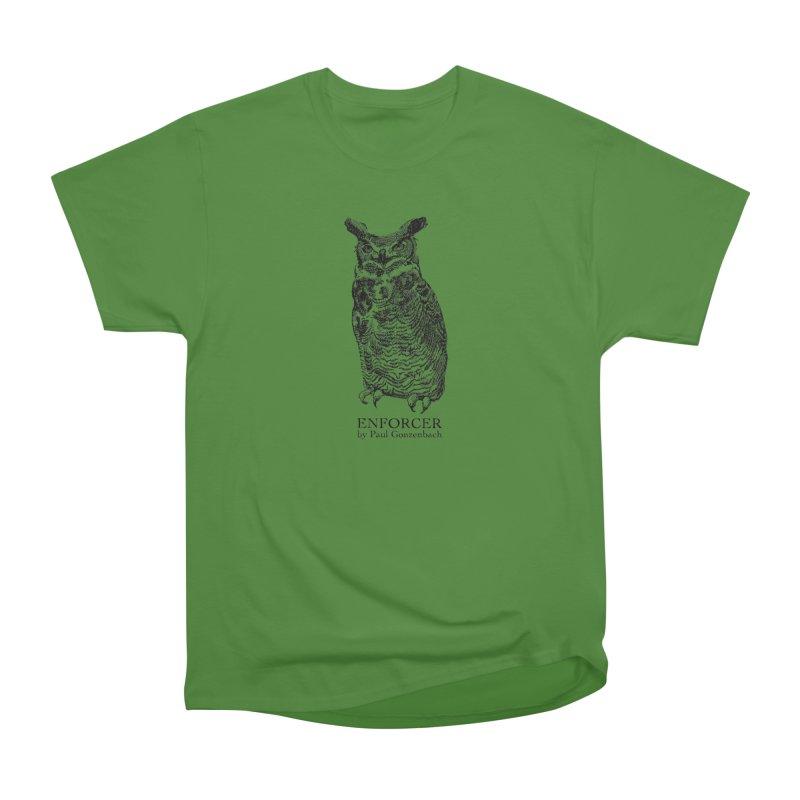Enforcer Owl Women's Classic Unisex T-Shirt by Unspeakable Records' Artist Shop