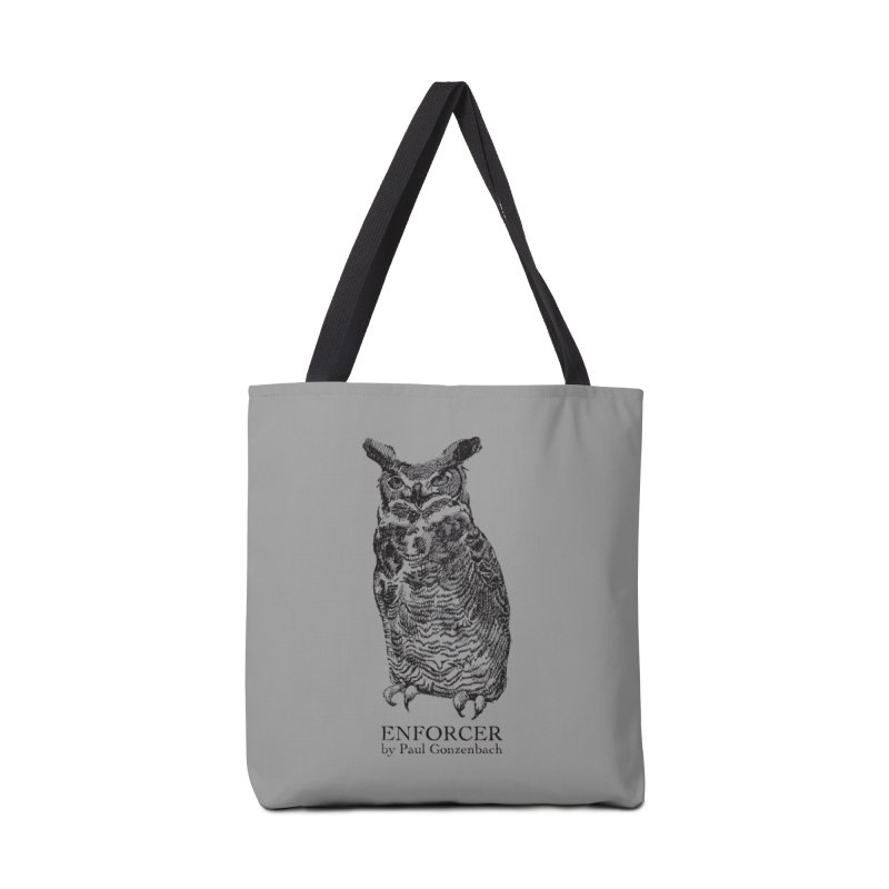 Enforcer Owl Accessories Bag by Unspeakable Records' Artist Shop